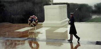 Tomb of the Unknown Soldier. Arlington National Cemetery.